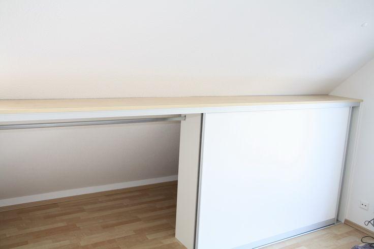 die besten 25 kleiderschrank mit schiebet ren ideen auf. Black Bedroom Furniture Sets. Home Design Ideas