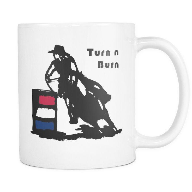 Turn n Burn - White Coffee Mug