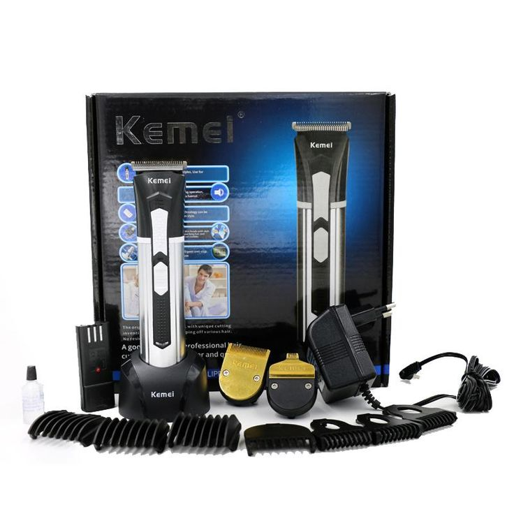 [Visit to Buy] T108 kemei men clipper hair trimmer beard professional rechargeable baby electric razor cutter hair cutting machine haircut #Advertisement
