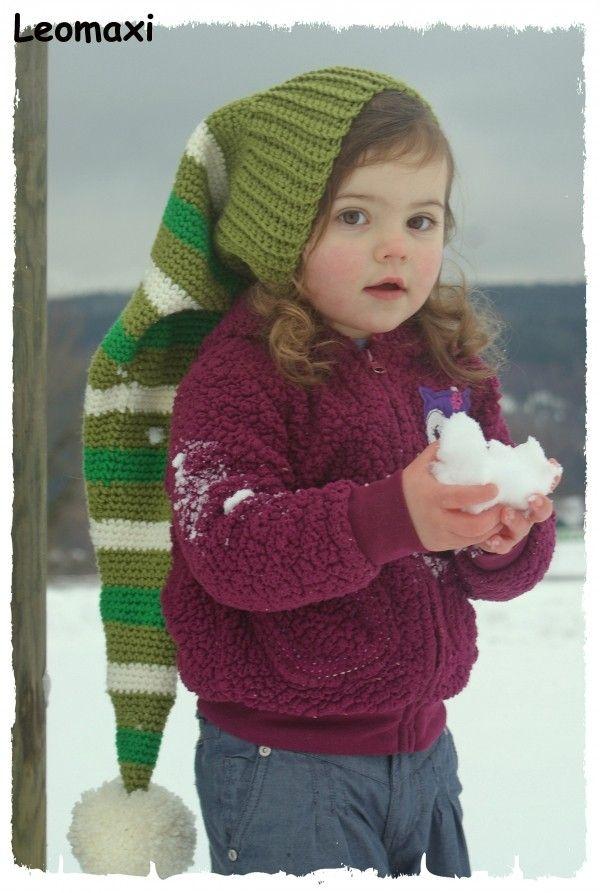 Zipfelmütze selber häkeln - DIY-Mütze-PDF | Crochet | Pinterest ...