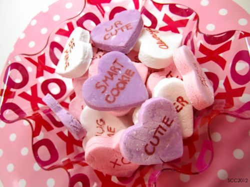 How to make your own homemade conversation hearts