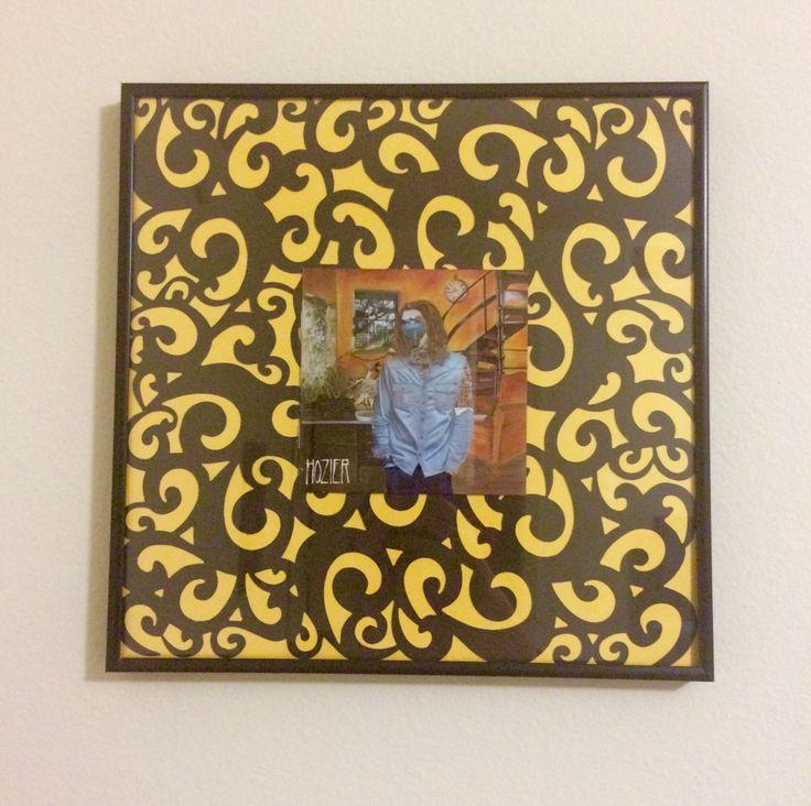 Hozier Album Cover Turned Artwork CD FRAME DIY 1 LP Frame Michaels