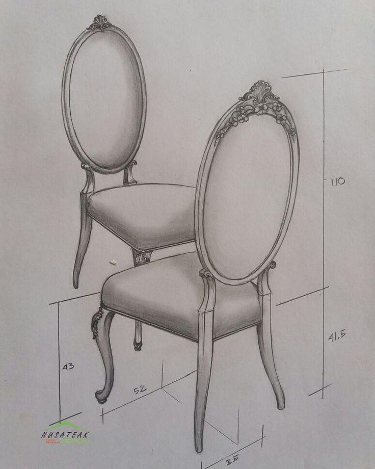 #Louis #Dining #Chair with #Carving Hayatun by #NusaTeak  PIN: 7658A033 Call WA: 6281908021000 Inquiry: info@nusateak.com Site: NusaTeak.com  #Mebel #Furniture #Meuble #Home #Decor #Interior #DiningChair #HomeDecor #LouisChair #HomeInterior #MahoganyChair #Cabriole #FurnitureDesign #InteriorDesign #Design #Indonesia #Etsy #Fabric