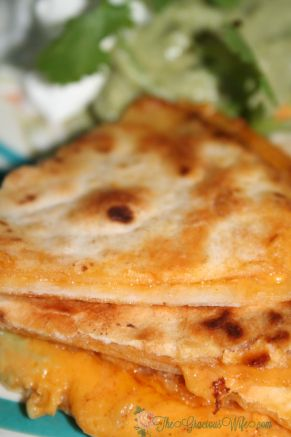 Copycat Taco Bell Quesadillas- Tastes JUST like the original! From TheGraciousWife.com