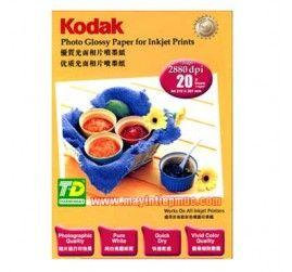 Giấy in ảnh A4 hiệu Kodak