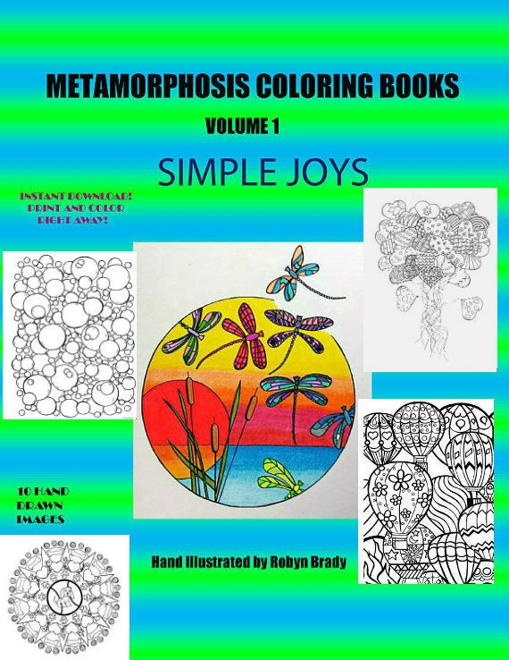 Coloring Book Etsy : 42 best adult coloring books pages calendars and bookmarks