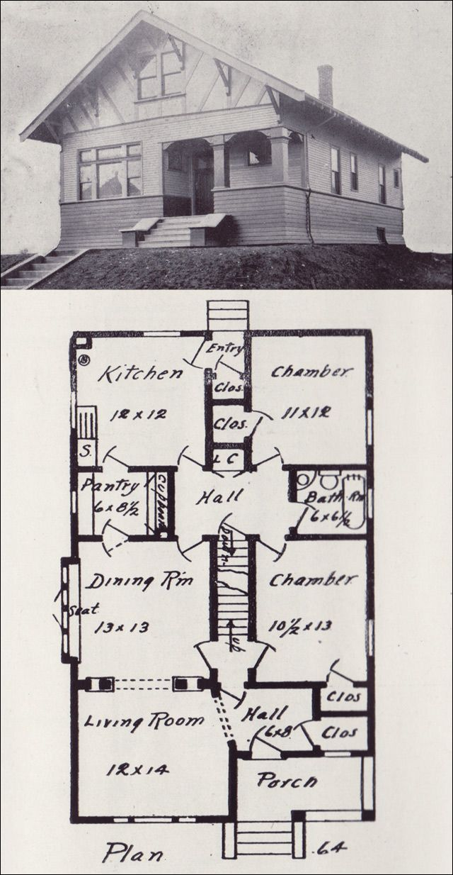 17 Best Images About Vintage House Plans 1900s On