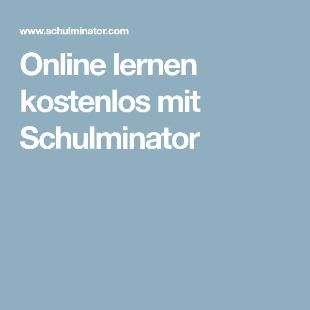 Online lernen kostenlos mit Schulminator