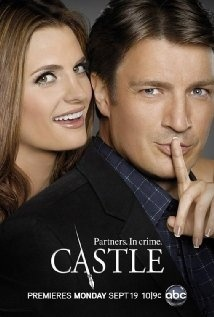 Castle (TV Show): Excellent, occasionally goofy crime show. Watch it for Nathan Fillion as the title character. - Click image to find more Film, Music & Books Pinterest pins