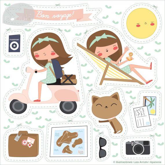 Vacacionesnanuk | nanuk Illustration by Laia Arriols - Apanona
