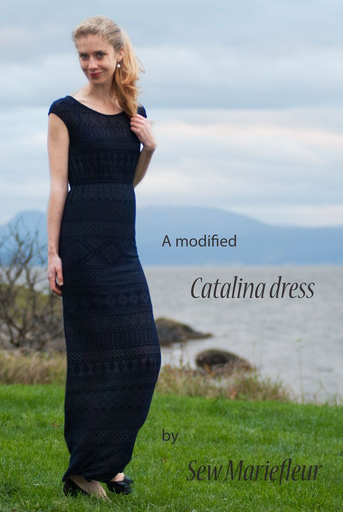 Blank Slate Patterns Catalina Dress by Sew Mariefleur