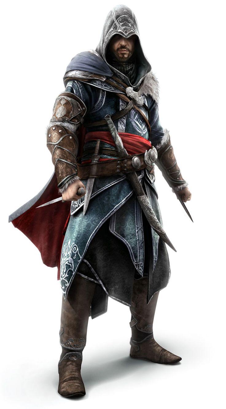 Ezio Auditore - Assassins Creed Revelations | Character ...
