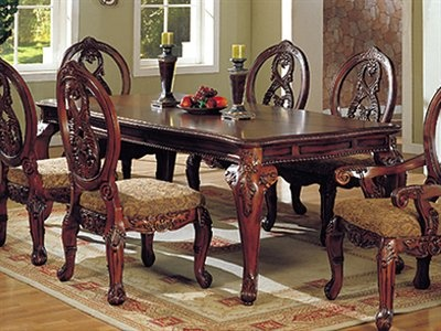 furniture of america cm3845 tuscany formal dining table furniture pinterest formal dining. Black Bedroom Furniture Sets. Home Design Ideas