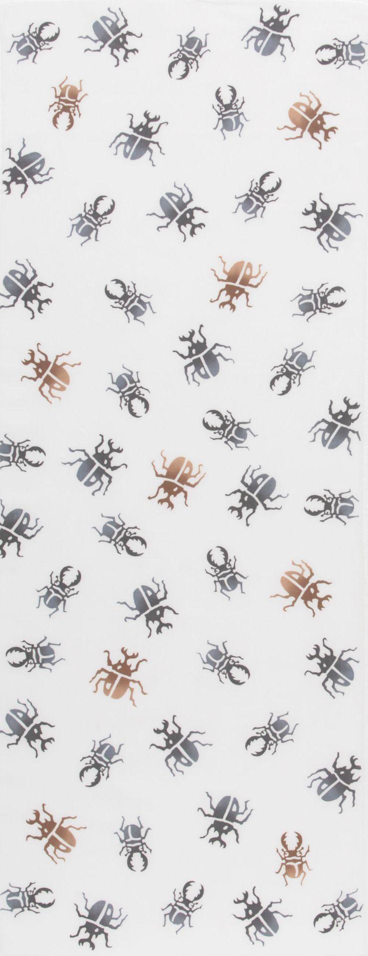 Japanese washcloth, Tenugui カブトムシ beetles