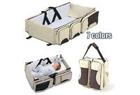 About the Product THREE-IN-ONE - Boxum's easy to carry bag combines a traditional diaper bag with a