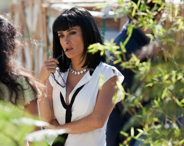 Still of Salma Hayek in Savages