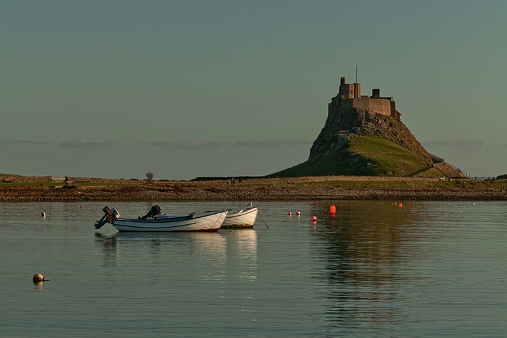 Moored at Lindisfarne