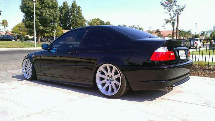 BMW E46 3 series black