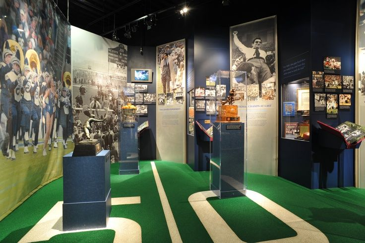 If you're a Penn State fan, we've got the perfect destination for you! The Penn State All-Sports Museum, located at the southwest corner of Beaver Stadium, allows guests to encounter the prestigious athletic history and heritage of the university. Full of interactive exhibits, the two-level, 10,000-square-foot museum tells inspirational stories, displays rare images and showcases the Heisman Trophy from John Cappelletti in 1972.