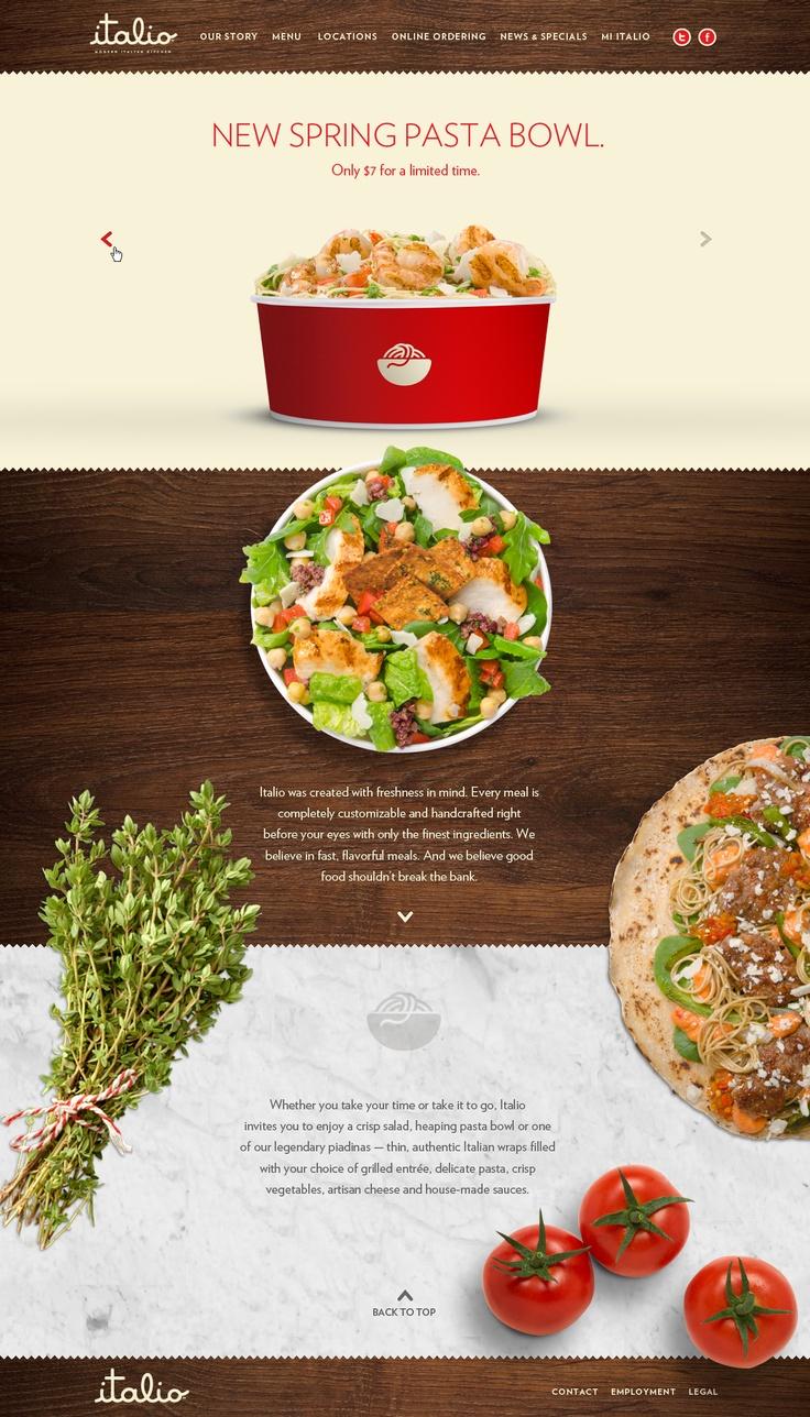 Italiokitchen.com - Restaurant web site