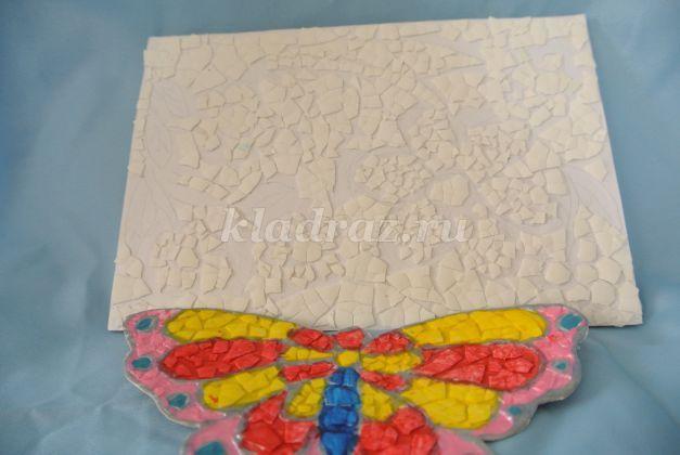 Мозаика из яичной скорлупы своими руками для детей
