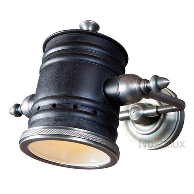 Industriele Vintage Fresno wandlamp