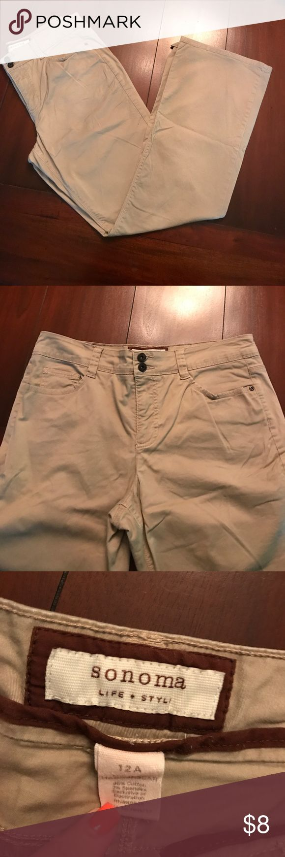 Khaki pants size 12 juniors Great condition! Just don't fit me anymore Jeans