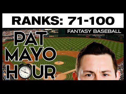 2017 Fantasy Baseball Rankings: No. 71 to No. 100 Overall Rankings Debate, ADP & Sleepers