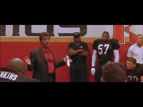 Any Given Sunday - Al Pacino Speech: Inch by inch, play by play