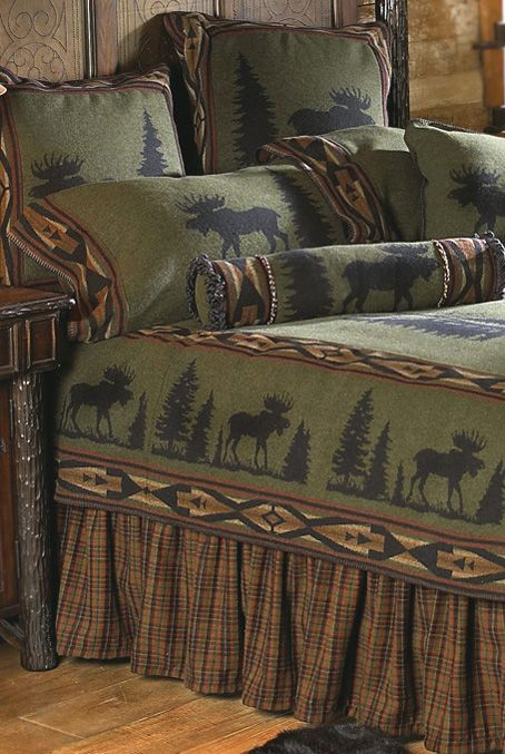 Moose Rustic Wilderness Bedding