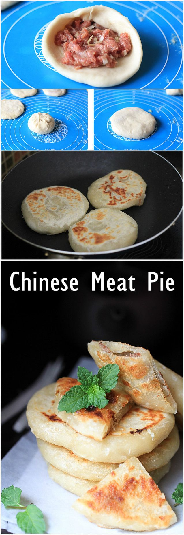 Chinese Meat Pie (Xian Bing) 丨China Sichuan Food