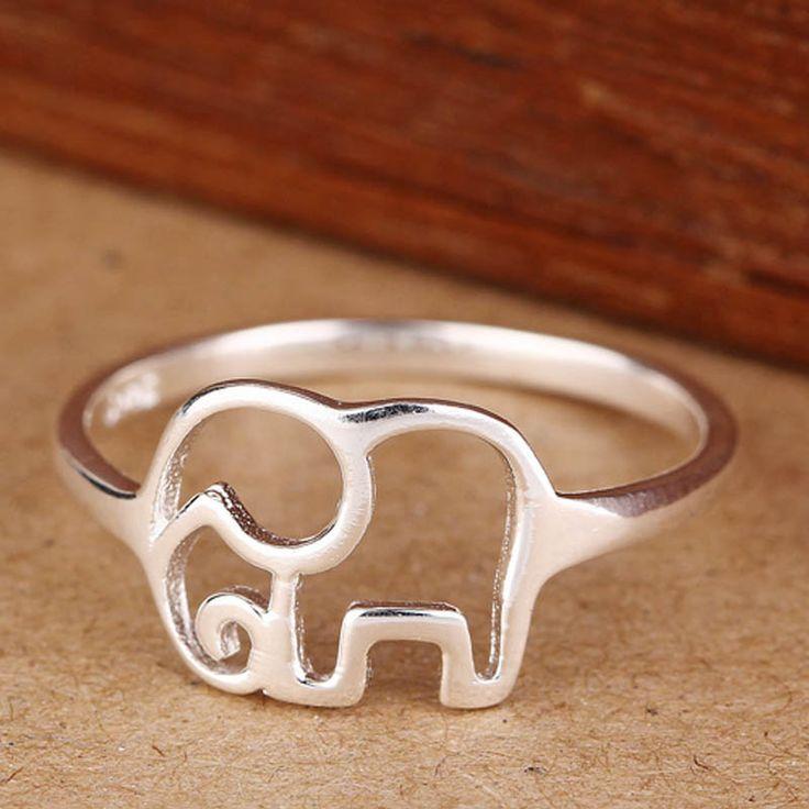 Elephant Fashion Designer Ring