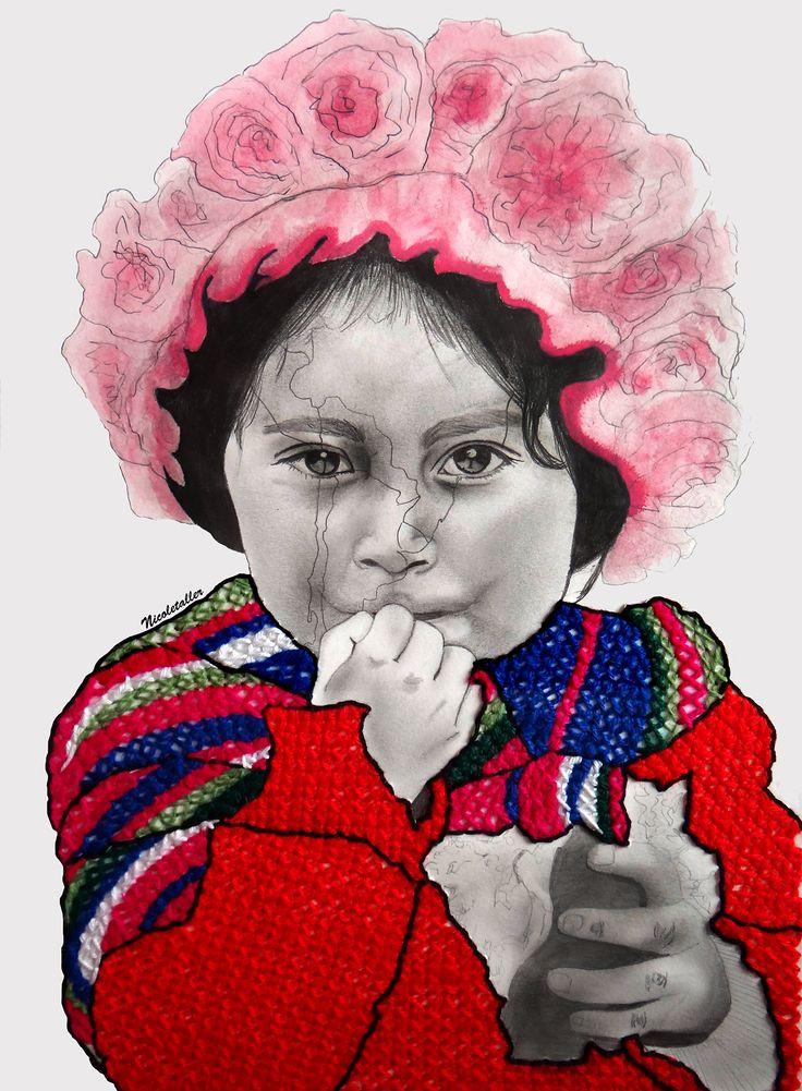 Las cicatrices de Latinoamérica: Pequeña Quechua por Nicoletaller