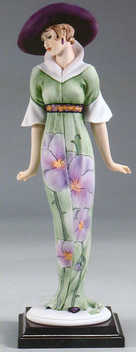 """Spring Flowers by Giuseppe Armani, #2077-C.  From the My Fair Ladies Collection.  13½"""" tall, $928 at annettesofrueroyal.com"""