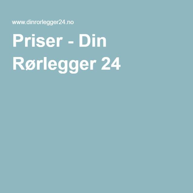 Priser - Din Rørlegger 24