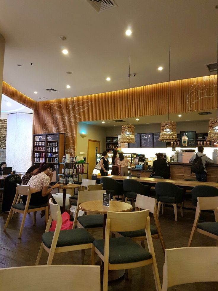 Starbucks Kuningan City, Jakarta. After renovation.  May 15th, 2017.