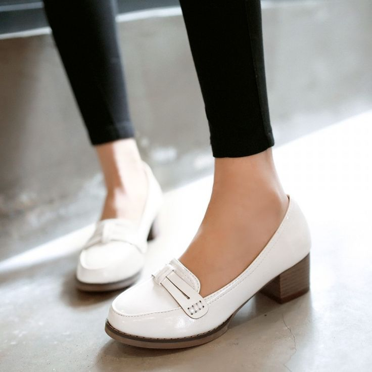 Heels: approx 4.5 cm Platform: approx - cm Color: White, Pink, Blue Size: US 3, 4, 5, 6, 7, 8, 9, 10, 11, 12 (All Measurement In Cm And Please Note 1cm=0.39inch) Note:Use Size Us 5 As Measurement Stan