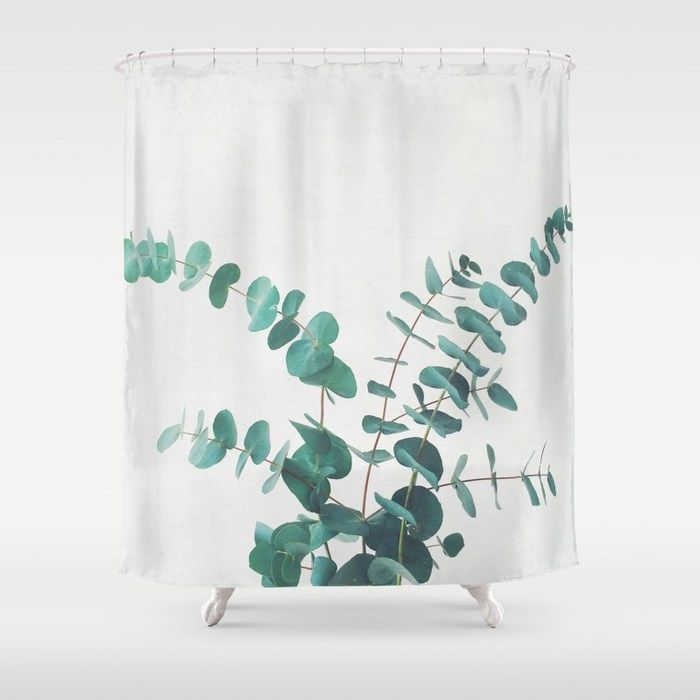 Buy Eucalyptus Ii Shower Curtain By Cassiabeck Worldwide Shipping