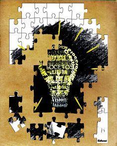 Participación en la exposición: De la idea a la bombilla.  #dibujo #boceto #lapiz #draw #pencil #retrato #portrait #ilustracion #illustration #puzzle #idea