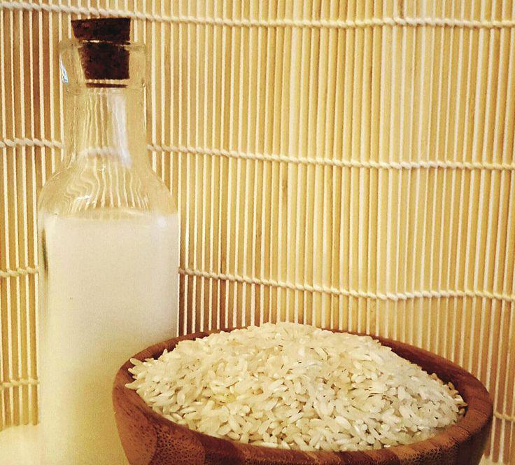 Rýžová voda pro vlasy a pleť