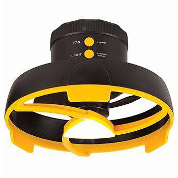 Portable Ceiling Fan w/Light