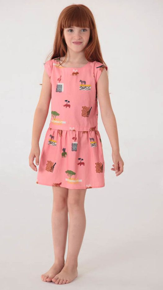 Nice Things Mini SS17 dresses for girls. Fashion for girls. Moda de verano.