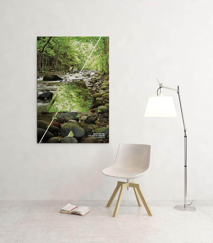 Poster de la collection Eden Iconova Design chrétien  géométrique et minimal   Art mural  #paysage #tableau #nature  #verset #géométrie #minimaliste #affichage #décoration www.iconova.fr