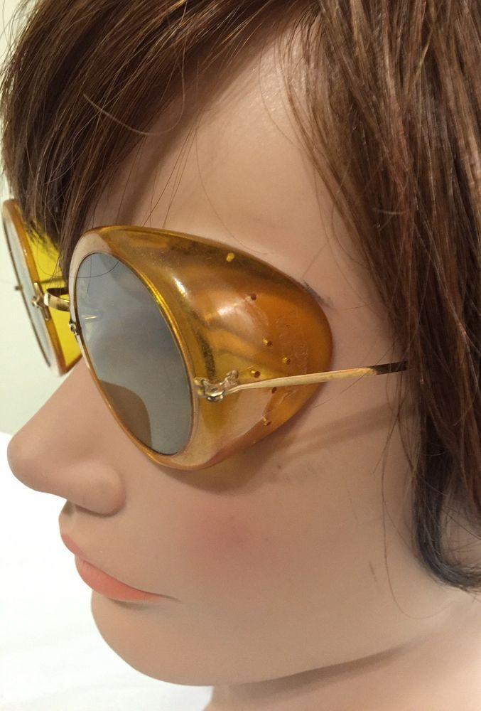 Eye Wear Motorcycle Goggles Sunglasses Glasses Steampunk 1970s Fashion Wear | eBay