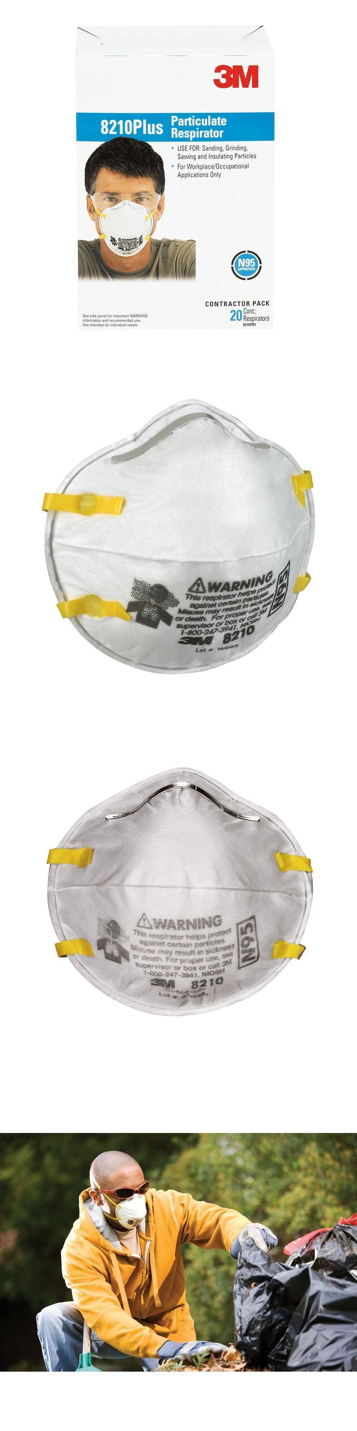 Masks Respirators and Helmets 43617: 3M N95 Particulate Respirator Dust Mask 20 Pack Protection Filter Disposable New -> BUY IT NOW ONLY: $48.8 on eBay!