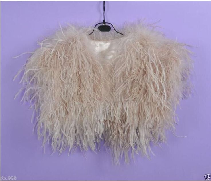 Luxury Ostrich Feather Bolero for Wedding Dress 2017 Luxury Whit/ Black/Champagne Wedding Jacket for Evening Dress-in Wedding Jackets / Wrap from Weddings & Events on Aliexpress.com | Alibaba Group