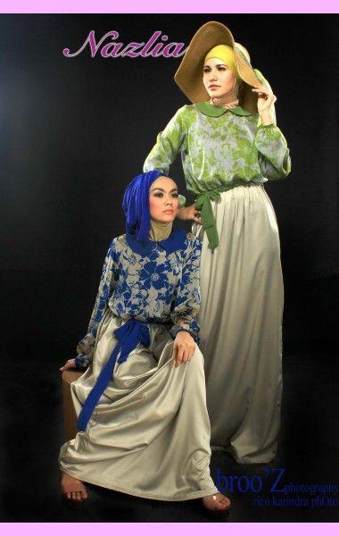 Raina dress - Butik Baju Muslim Online ~ Nazlia.Com