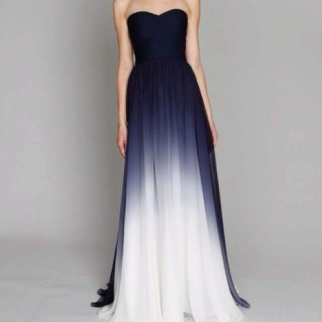 Midnight blue for Midnight blue wedding dress