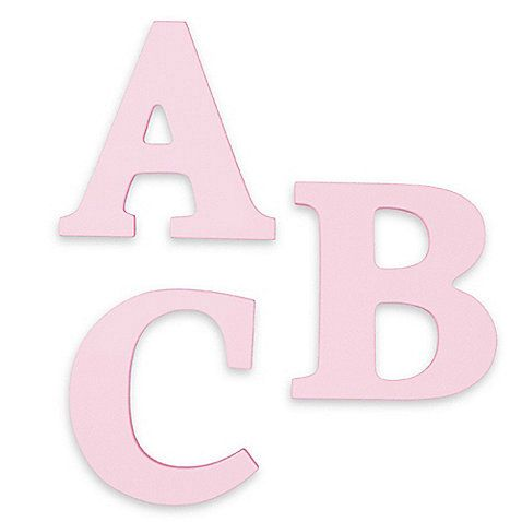 kidkraft wooden letters pink from bed bath beyond