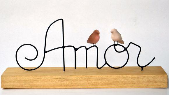 Escultura Amor 2 passarinhos http://www.elo7.com.br/escultura-amor-2-passarinhos/dp/3C2B92